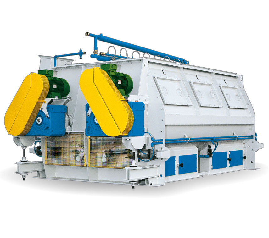 DOUBLE SHAFT HORIZONTAL MIXER