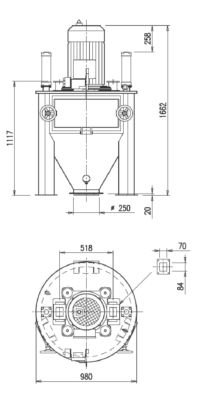 Disegno Mulino Verticale MFV 600