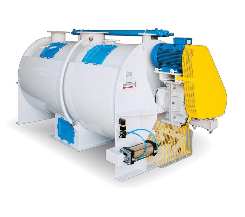 SINGLE SHAFT VACUUM COATER MIXER
