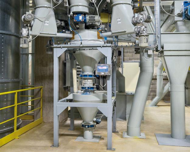 Impianto dosaggio microelemeti