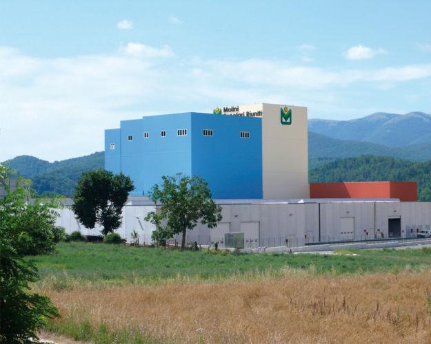 Vista esterna dell'impianto