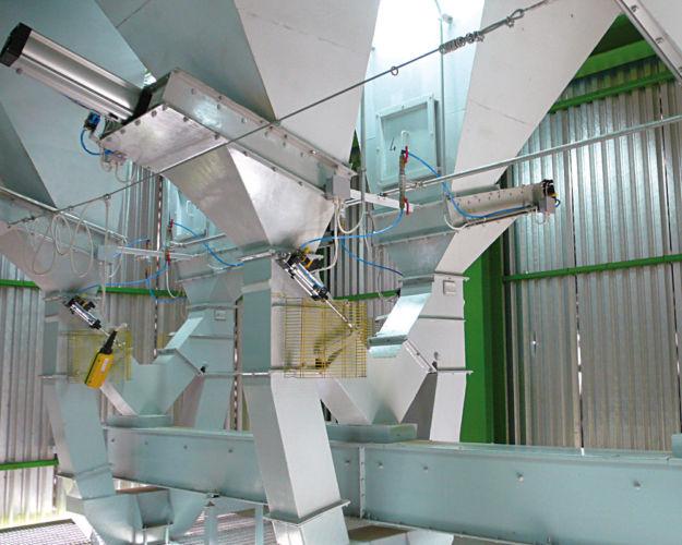 Estrazione da silos prodotti finiti